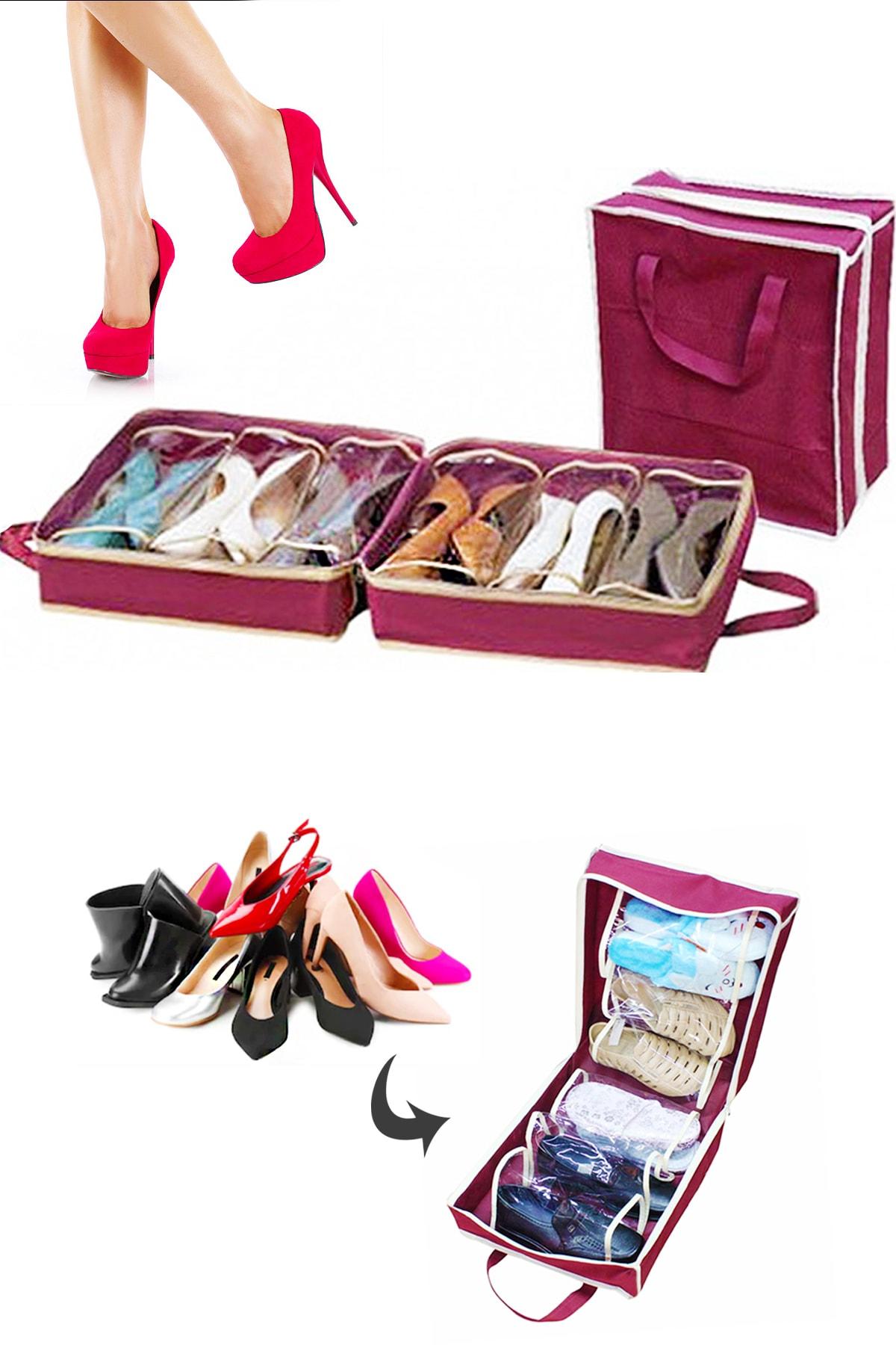 Helen's Home Ayakkabı Saklama ve Taşıma Hurcu Shoe Tote