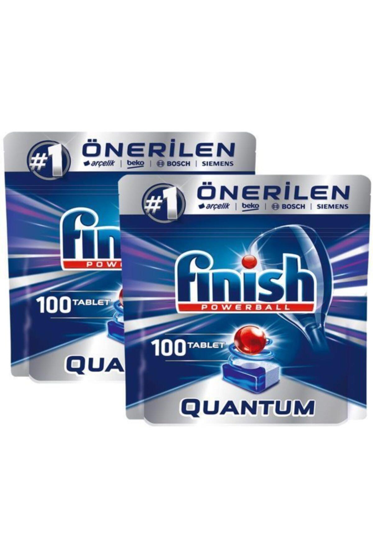 Finish Quantum 100 Tablet Bulaşık Makinesi Deterjanı X 2 Adet 2
