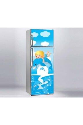 Jasmin2020 Buzdolabı Sticker Çocuk Balık