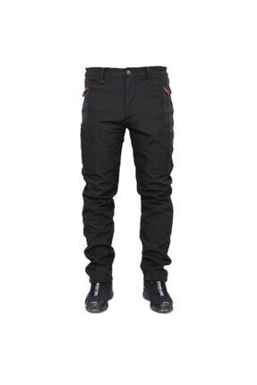 Ysf Erkek Siyah Su ve Rüzgar Geçirmez Outdoor Pantolon