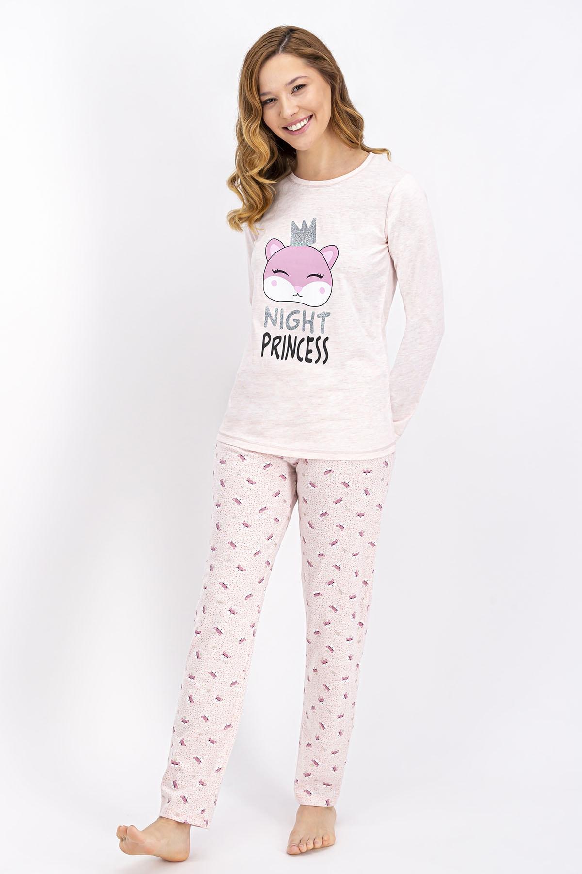 ROLY POLY Rolypoly Pembemelanj Night Princess Kadın Pijama Takımı 1