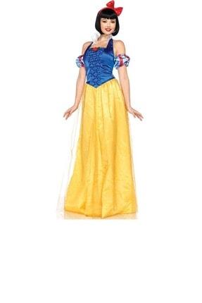 Kostüm Sarayı Yetişkin Pamuk Prenses Kostümü
