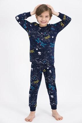 ROLY POLY Erkek Çocuk  Lacivert Space Pijama Takımı