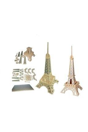 rennway 3d Ahşap Puzzle - Eyfel Kulesi