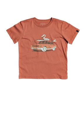 Quiksilver Unisex Çocuk Rdigtaltimss Çocuk T-Shirt Eqkzt03374-mnl0