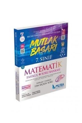 Muba Yayınları 7. Sınıf Mutlak Başarı Fasikül Matematik Soru Bankası