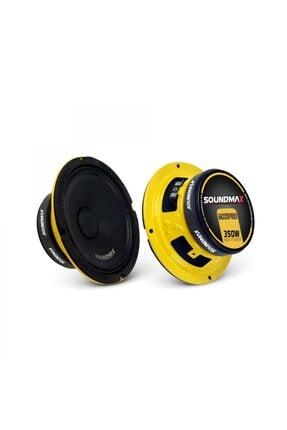 Soundmax Sx-mx6pro 16cm 350w Yeni Seri Midrange Oto Hoparlör