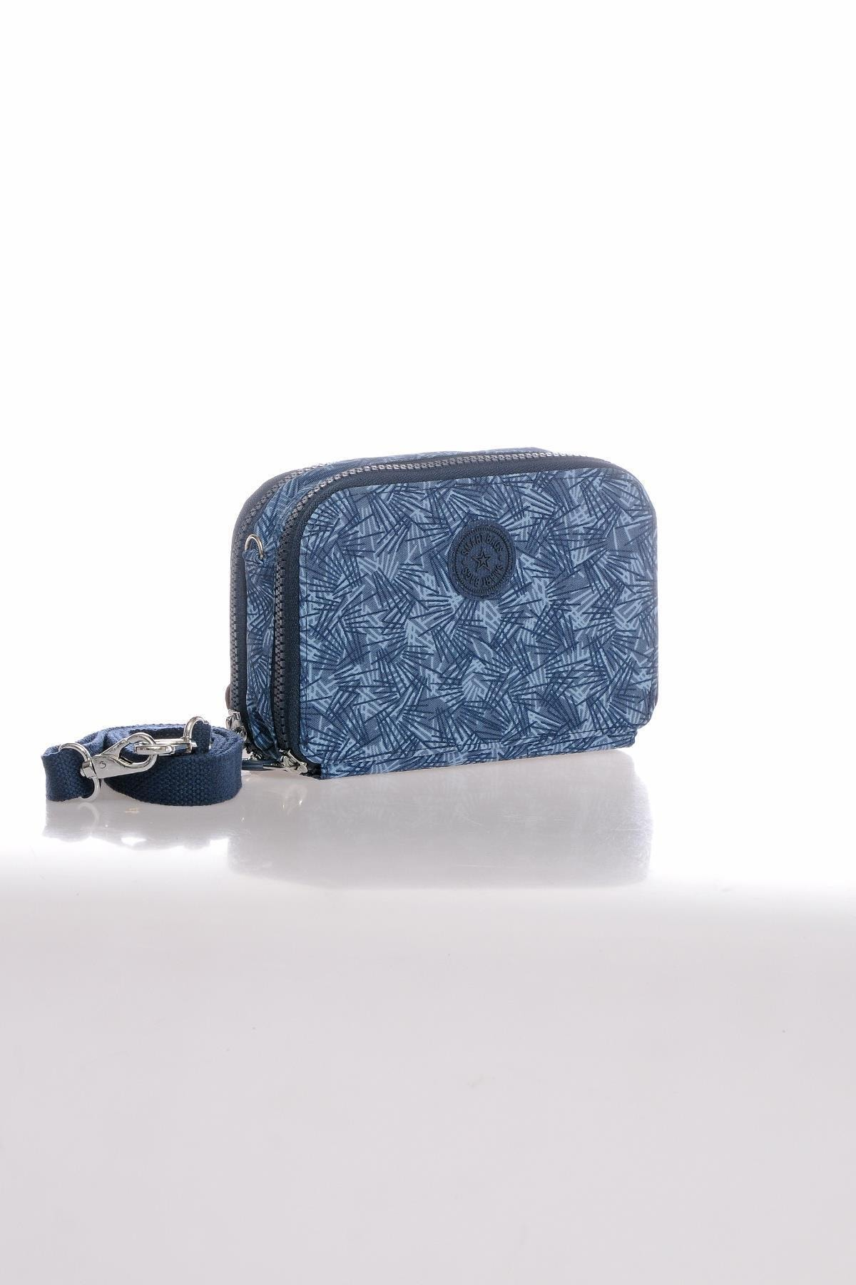 SMART BAGS Kadın Mavi/ Portföy Çanta Smb3038-0097 2