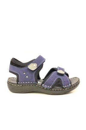 Toddler Erkek Çocuk Hakiki Deri  Sandalet