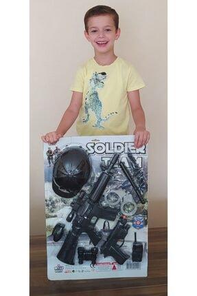 Brother Toys Oyuncak 11 Parça Asker Polis Seti