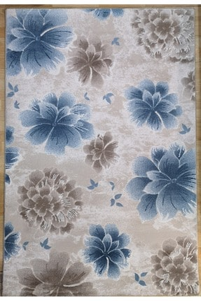 Sanat Halı Mavi Desenli Alem Halı 120x180 cm