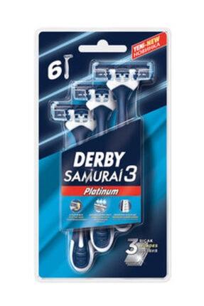 Derby Samuraı 3 Platınum Blıster 6'lı