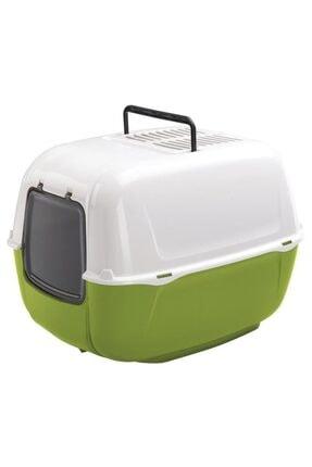 Ferplast Home Prima Aktif Karbon Filtreli Kedi Tuvaleti Yeşil