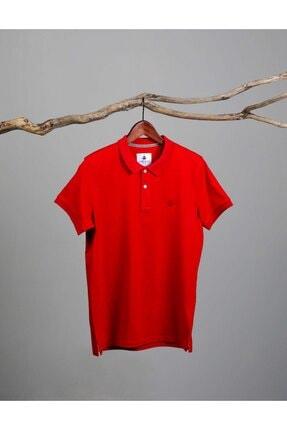 ADAM BOXES Erkek Kırmızı Polo Yaka T-Shirt