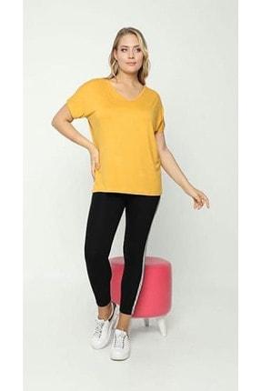 zeynep Kadın Sarı Sırt Detaylı Bluz