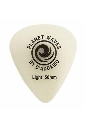Planet Waves Planetwaves 1ccg2 1adet Gitar Penası- Fosforlu Pena  0.50mm Light Gitar Penası