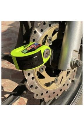 Armor Alarmlı Disk Kilidi Yeşil 606mva 6 mm