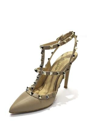 Poletto Hakiki Deri Klasik Topuklu Ayakkabı Plt16y-323 36