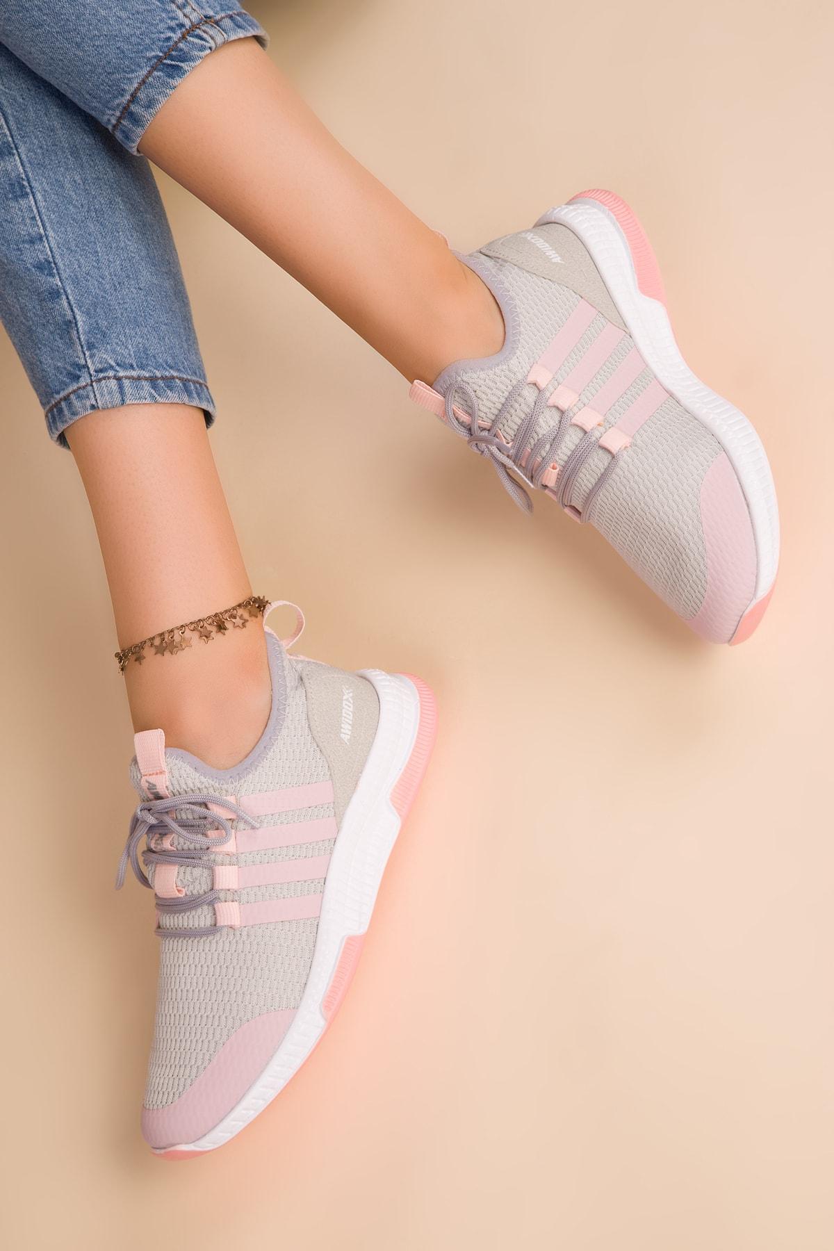 SOHO Buz-Pudra Kadın Sneaker 15195 1