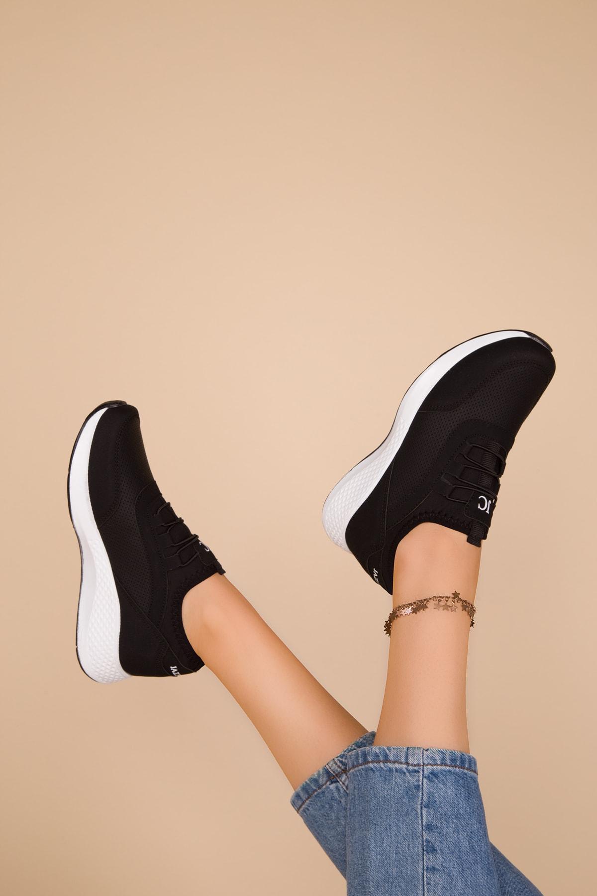 SOHO Siyah Kadın Sneaker 15226 2