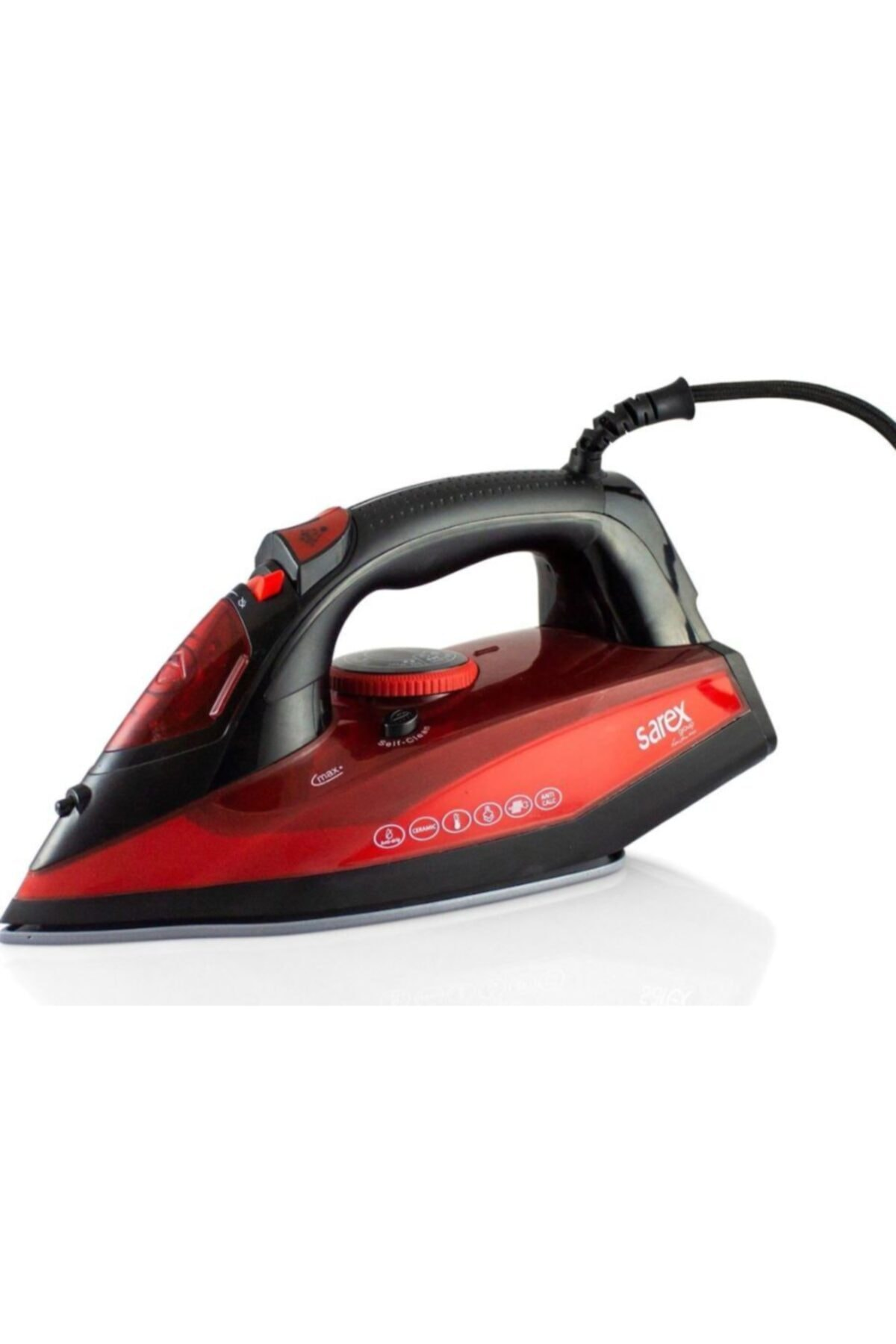 Sarex Kırmızı Luna Buharlı Ütü 2200 W  Sr3500 1
