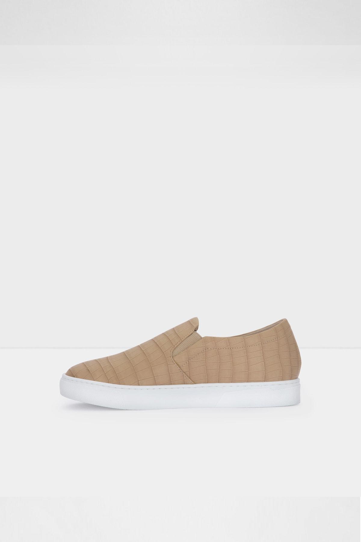 Aldo Kadın Bej  Suni Deri Sneaker Ayakkabı 2