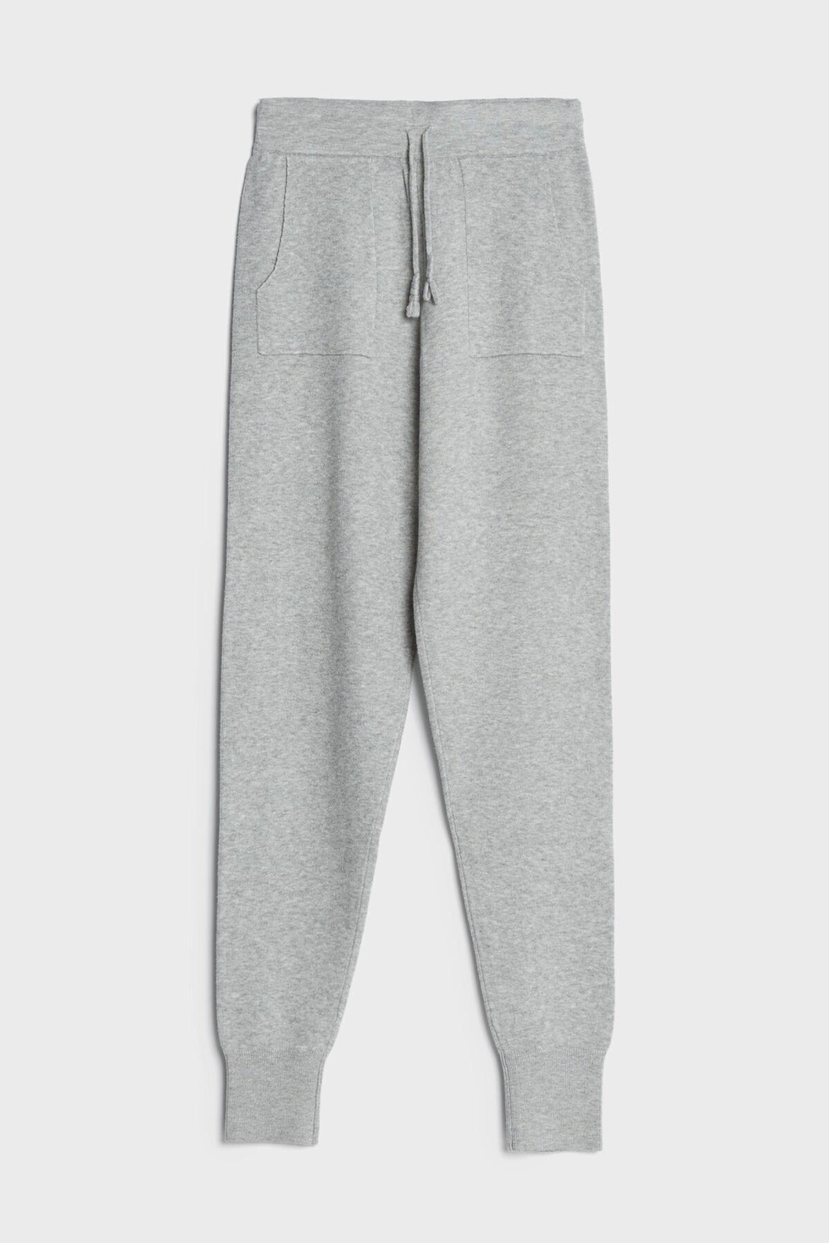 Bershka Kadın Gri Koton Jogger Pantolon 2