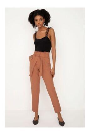 Moda Avcilari by Gülcan Kadın Kahverengi Pantolon
