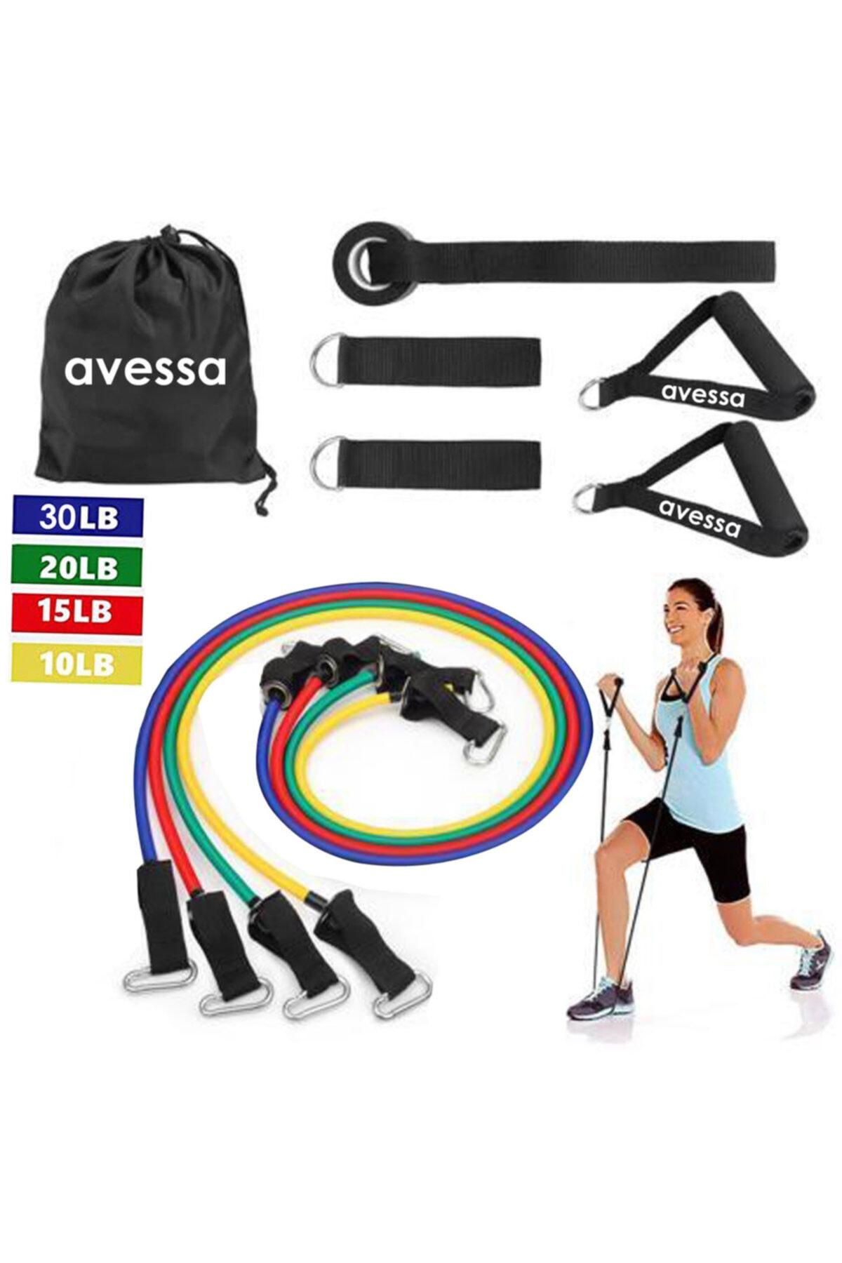 AVESSA 10 Parça Kapı Arası Direnç Lastiği Set Acs 1