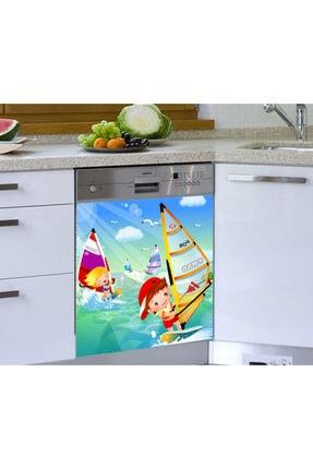 Jasmin2020 Çocuk Sorf Bulaşık Makinesi Sticker