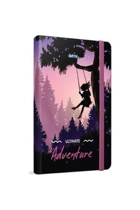 Gıpta Adventure 13x21 Çizgisiz 120 Yaprak Sert Kapak Defter 3863