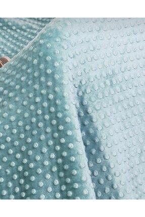 Merinos Çift Kişilik Tomurcuk Battaniye Mint 200 Cm X 220 Cm