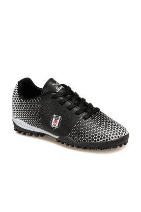 Bjk Baros Turf Siyah Erkek Çocuk Halı Saha Ayakkabısı