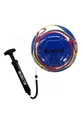 Delta Golpear 5 Numara Dikişli Futbol Topu + Top Pompası