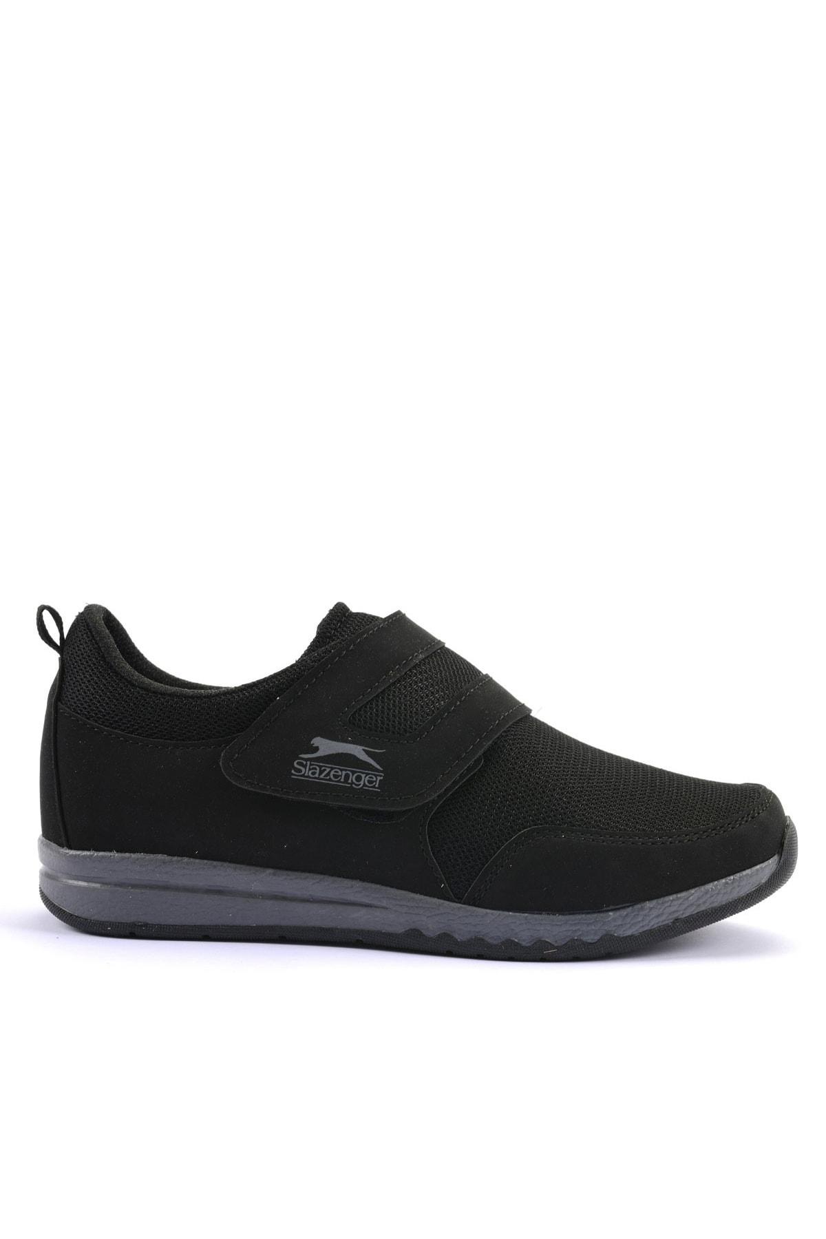 Slazenger Alıson Günlük Giyim Kadın Ayakkabı Siyah / K.gri 1