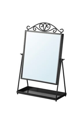 Zizuva Masa Aynası Siyah 27x43