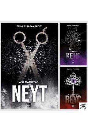 Dokuz Yayınları Asi Çakıltaşı Serisikehf Reyc Neyt 3 Kitap Set Binnur Şafak Nigiz / Dokuz