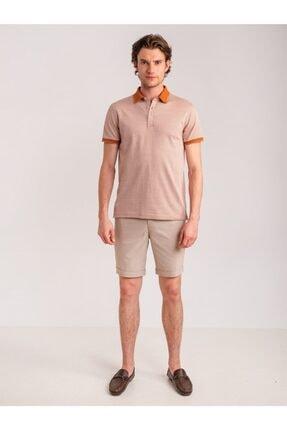 Dufy Erkek Kiremit Polo Yaka T-Shirt