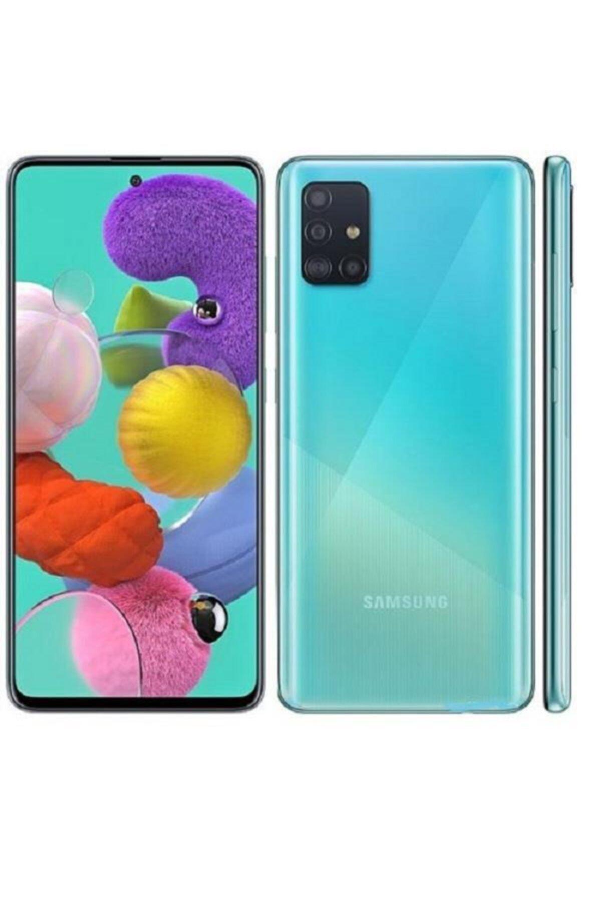Samsung Galaxy A71 128GB Mavi Cep Telefonu (Samsung Türkiye Garantili) 1