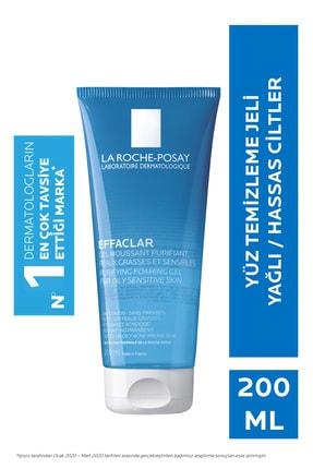 La Roche Posay Effaclar Jel 200 ml Yağlı/Akneye Eğilim Gösteren Ciltlere Temizleme Jeli