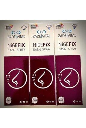Zade Vital Zadevital Nigefix Nazal Sprey 15 Ml*3 Adet Skt:01.2022