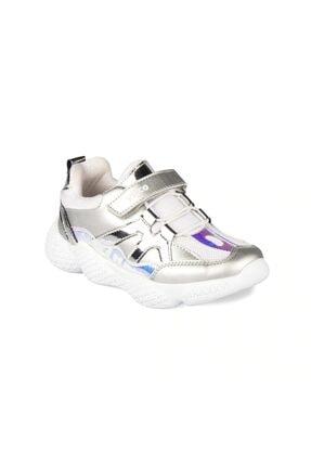 Vicco Kız Çocuk Gümüş  346.19k.133 Cruse Ortopedik  Günlük Spor Ayakkabı