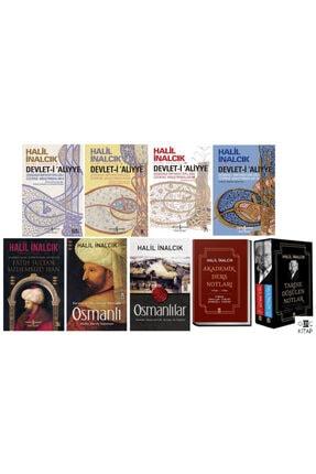 İş Bankası Kültür Yayınları Halil Inalcık 9 Kitap Tarih Seti -timaş Yayınları