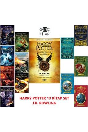 Yapı Kredi Yayınları Harry Potter Serisi 13 Kitap Set J.k. Rowlıng