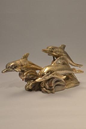 Eymense Gold Yunuslar Dekoratif Obje