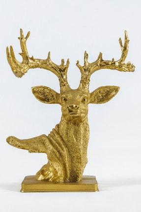 Eymense Gold Geyik Dekoratif Obje