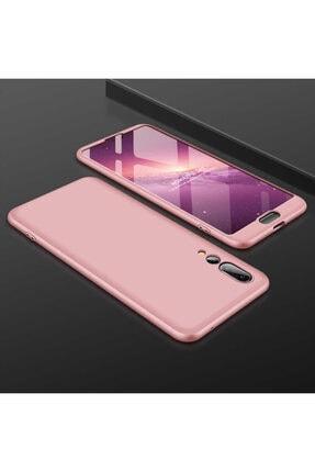 Huawei P20 Pro Sert Silikon Kılıf Rose Gold