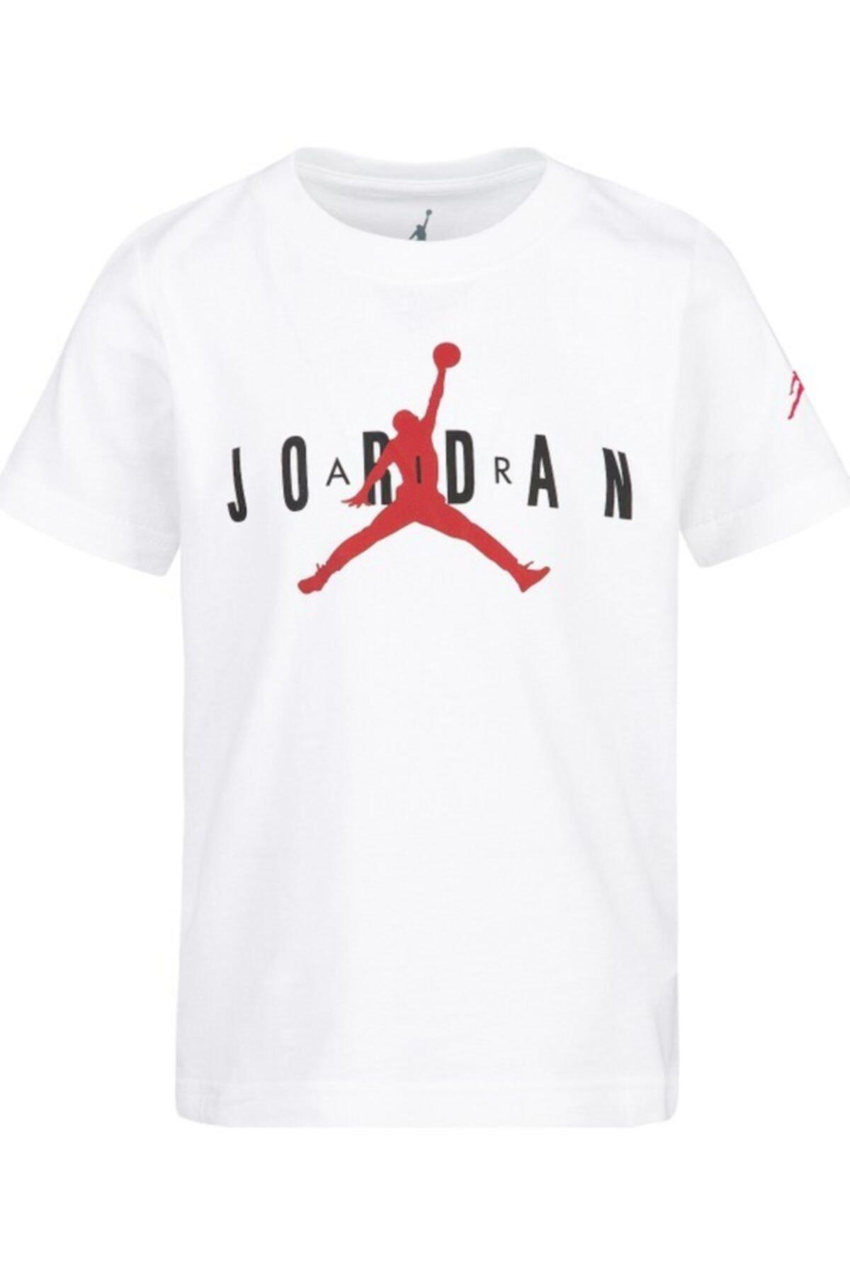 Nike Kids Unisex Çocuk Beyaz Jordan Jdb Brand Tee 5 Tişört 1