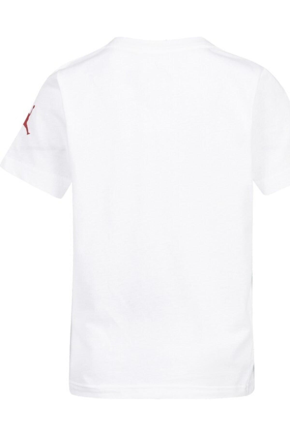 Nike Kids Unisex Çocuk Beyaz Jordan Jdb Brand Tee 5 Tişört 2