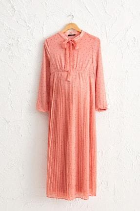LC Waikiki Kadın  Mercan   Elbise 0Wh438Z8